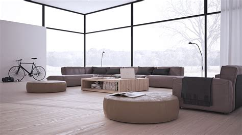 low furniture inspiring minimalist interiors with low profile furniture