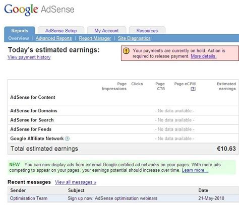 google adsense tutorial ita adsense understand make money from adsense
