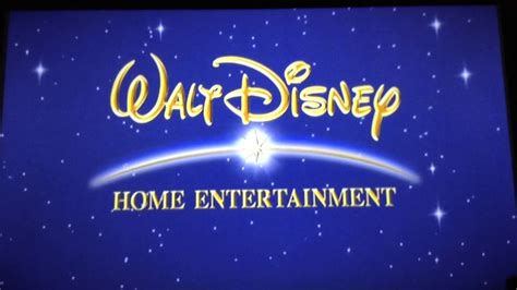 walt disney home entertainment logo blue widescreen dvd