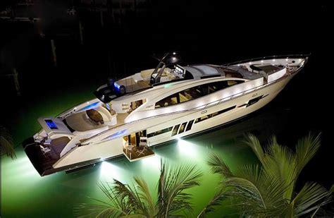 yacht underwater lights sv10 underwater lights on lsx 92 credit lazzara yachts
