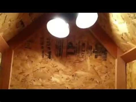 how to heat dog house dog house with heat for the winter youtube