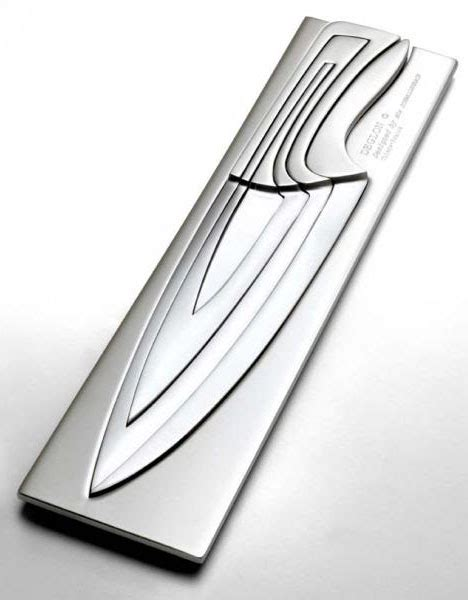 Nesting Chef?s Knives: Scary but Clever Kitchen Cutlery Set