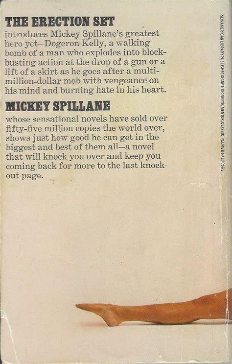 Seen 05a Shirt pop sensation paperback 119 the set mickey spillane signet y5120