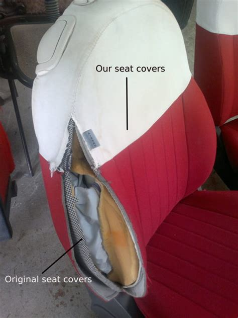seat covers for seats with airbags side airbag compatible seat covers for fiat 500