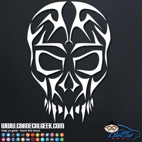 Tribal Sticker Skull by Freaky Tribal Skull Vinyl Car Window Decal Sticker Skull