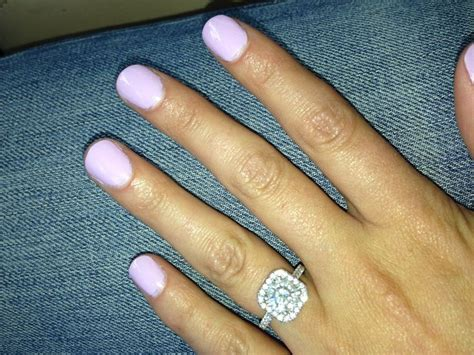 Wedding Rings With Color by Engagement Ring Wedding Nail Color Alyssa S Future