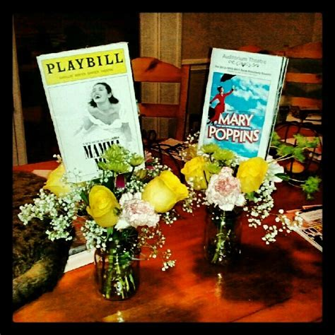 broadway themed decorations best 25 broadway theme ideas on