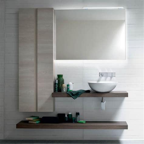 piano appoggio lavabo bagno arredaclick mobile bagno moderno una mensola per