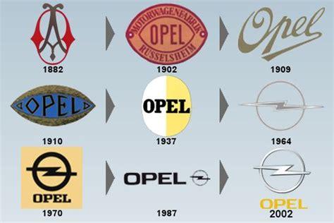 opel logo history evolution du logo opel logos insignias