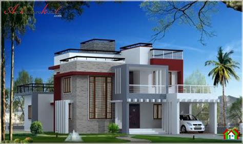contemporary style kerala home design home design low cost house plans kerala model home plans