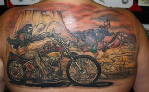 ghost rider tattoo david mann s ghostrider