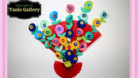 how to make hanging l with paper how to do wall hanging craft ideas for kids simple and