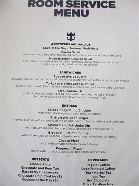 Room Menu by Of The Seas Dining Room Menu Room Design Ideas