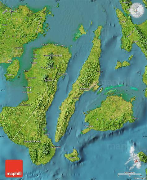 map philippines satellite satellite map of region 7