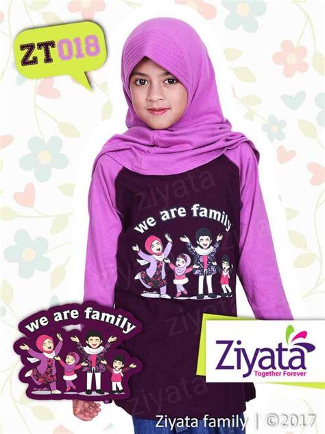 Jual Kaos jual kaos keluarga muslim family