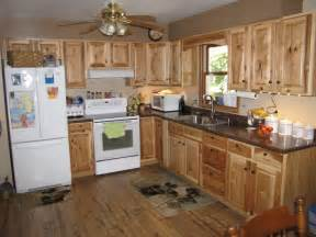 Denver hickory stock custer traditional kitchen