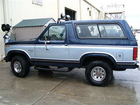 1983 Ford Bronco by 1983 Ford Bronco Picture Gallery