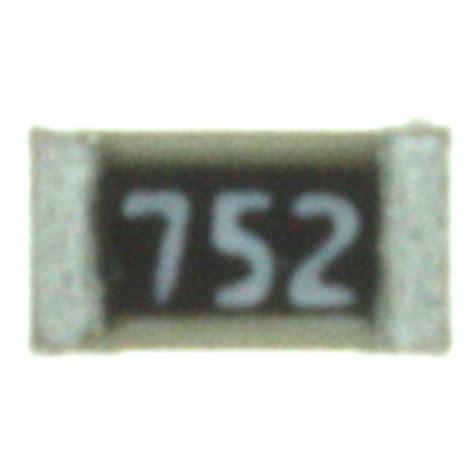 Smd Resistor 7 5kohm 7 5 Kohm 752 0603 1608 rgh1608 2c p 752 b susumu resistors digikey