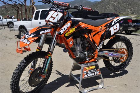 Searle Ktm 2011 Ktm Models Show At Pala Enduro360