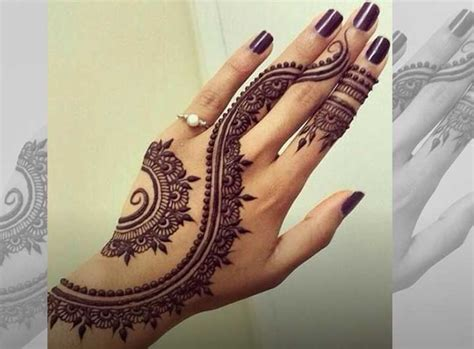 henna design for back of hand gujarati bridal mehndi designs 19 best styles that stand out