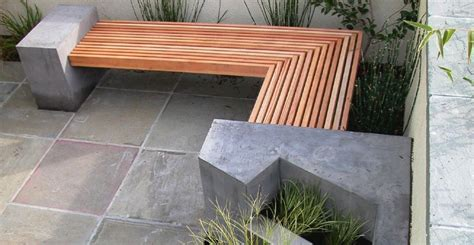 concrete garden benches outdoor concrete benches treenovation