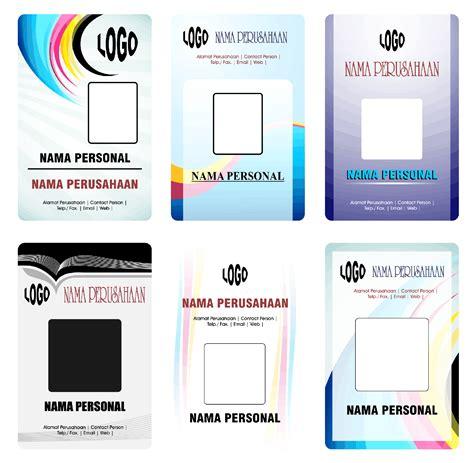 design id card unik tugas tik sandhika id card