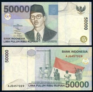 Uang Lama 20 Ribu Rupiah Tahun 1998 indonesia ku indonesia gambar mata uang rupiah dari dulu