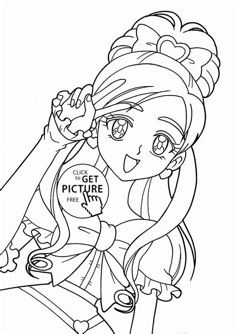 Beautiful Girl Coloring Pages Coloring Pages For Girls Coloring Pages Of Beautiful Anime