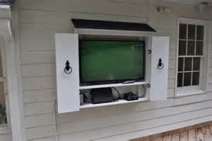 Exterior Tv Cabinet 9 Best Images About Outdoor Tv Ideas On Tv