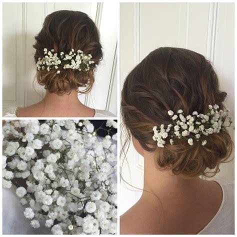 Brautfrisur Braune Haare by Braut Make Up Und Brautfrisuren Hochzeitsfrisur Und