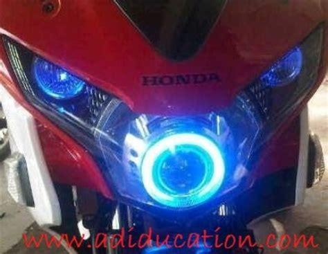 Lu Hid Buat Motor Beat variasi lu warna buat motor dengan model bulat menarik