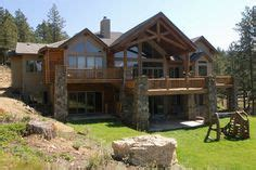 rustic house plans with walkout basement two story house plan with walkout basement rustic mountain house plan rustic mountain design