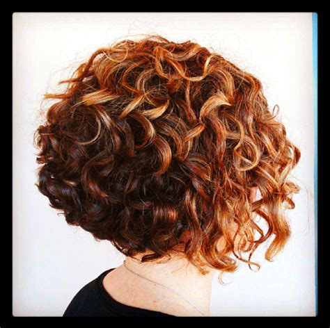 stacked hair with perm stack perm for short hair short hairstyle 2013