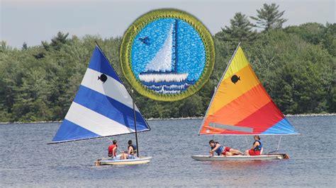small boat sailing merit badge 12 cool merit badges to earn at c minsi