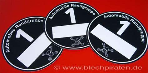 Aufkleber Umweltzone Schwarz by Plakette F 252 R Die Automobile Randgruppe Www Blechpiraten