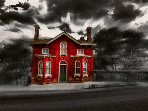 red house colorsplash quot red quot on pinterest color splash red