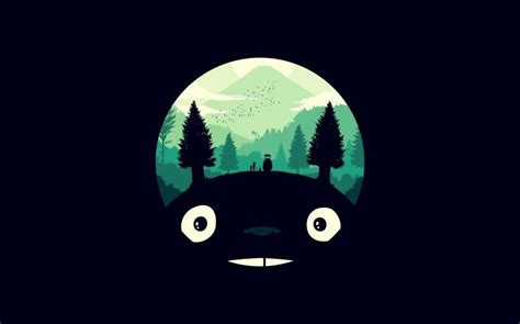 totoro wallpaper for mac my neighbor totoro by pcole wllppr