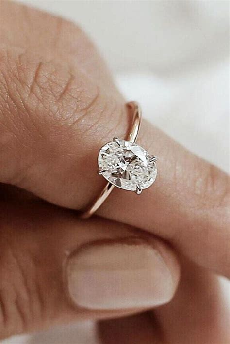 Best 25  Oval engagement rings ideas on Pinterest   Gold