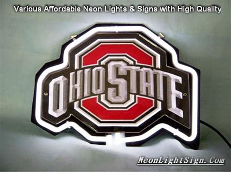 ohio state neon light ncaa ohio state 3d neon light sign ncaa