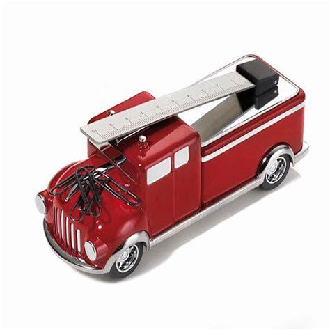 cadeau bureau presse papier camion de pompiers aimant 233 d 233 coration de