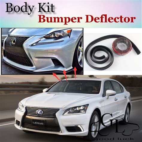 toyota celsior body kit bumper lip deflector lips for lexus ls 400 430 460 600h l