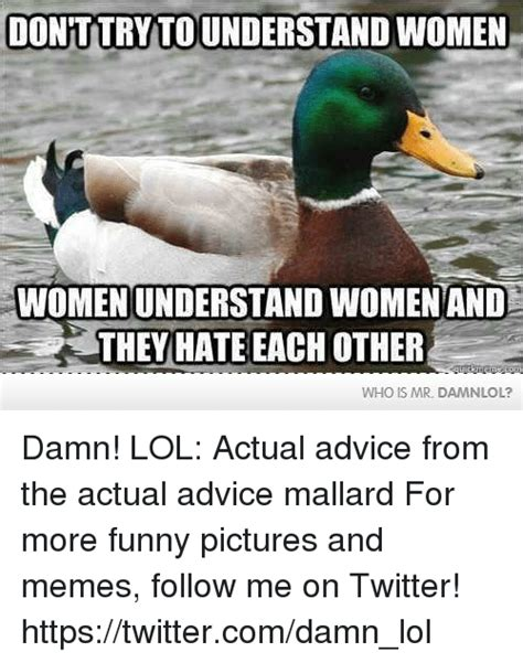 Advice Memes - 25 best memes about actual advice mallard actual advice