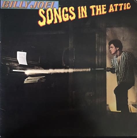 in the attic billy joel songs in the attic the vinyl press