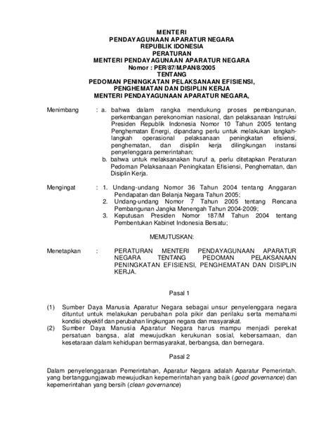 artikel peraturan menteri pendidikan nasional republik indonesia peraturan presiden menpan go id download lengkap