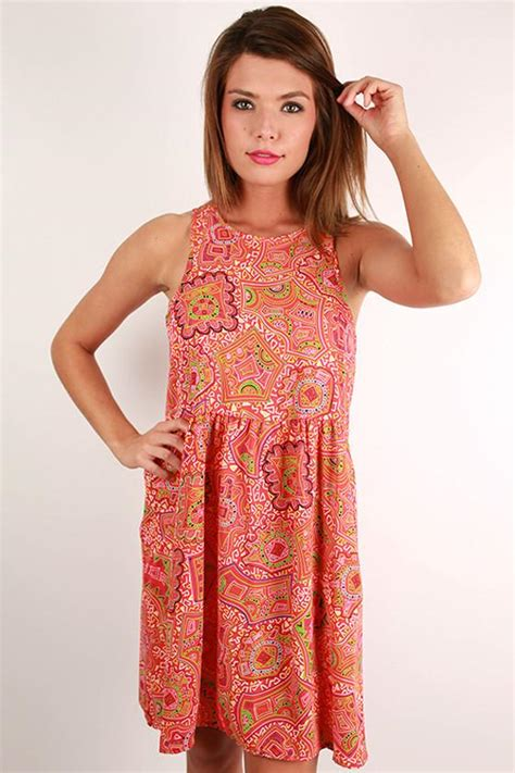 Happy Hour Tangerini by Patio Happy Hour Dress In Tangerine Impressions