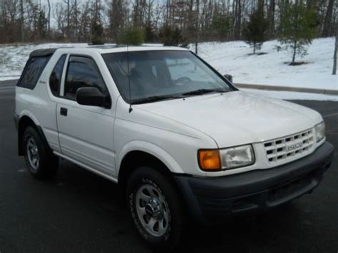 car owners manuals for sale 1999 isuzu amigo parental controls purchase used 1999 isuzu amigo s sport utility 2 door 4x4 2 2l 5 speed manual transmission in