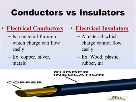 electrical conductors and insulators electricity and magnetism ppt