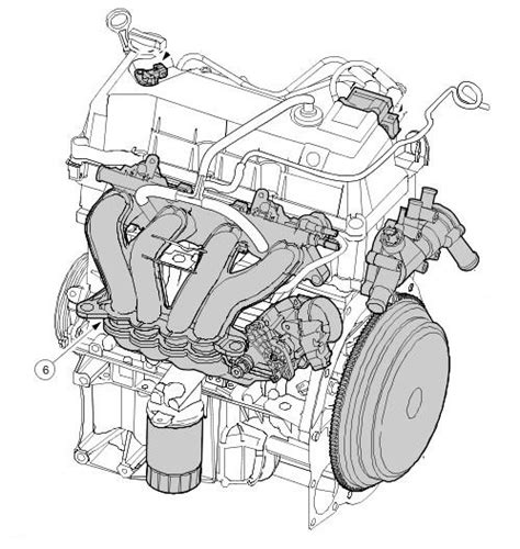 Ford Ka Exhaust System Diagram Ford Ka How Do I Loosen Chain On A Duratec Engine 1300