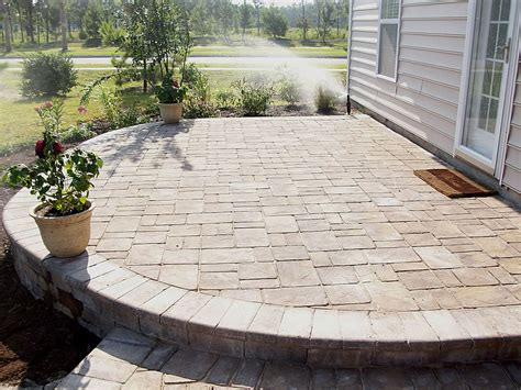 Install Patio Pavers How To Lay Patio Pavers On A Slope Icamblog