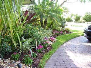 Florida Backyard Landscaping Ideas Tropical View Landscape